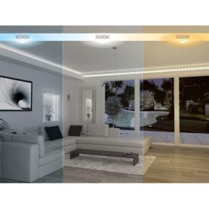 xanlite ruban led 3m 7 5w 600 lumens nc pas cher achat vente spots rueducommerce. Black Bedroom Furniture Sets. Home Design Ideas
