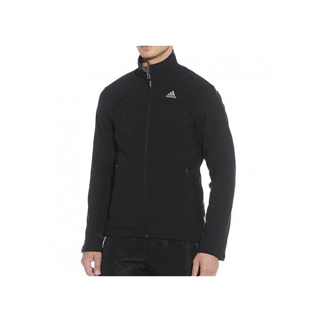 veste noir adidas