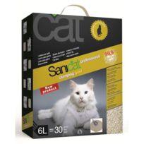 Sanicat - Promo Litiere Agglomérante Gold 6l - Pour chat