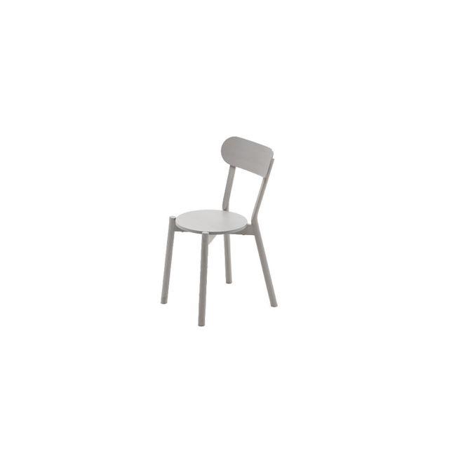 Karimoku New Standard Chaise Castor - Chêne gris grainé