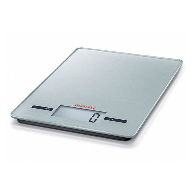 SOEHNLE balance de cuisine électronique 5kg - 1 g argenté - 65119