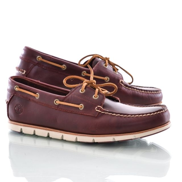 Timberland Chaussures bateau tidelands redwood pas cher