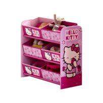 Room Studio - Rangement 6 Corbeilles Hello Kitty