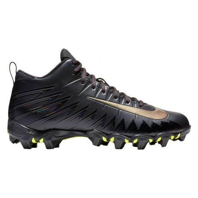 102bd79947 Nike - Crampons de Football Americain moulés Nike Alpha Menace Shark 2 3/4  Noir