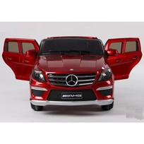 Mercedes - Voiture électrique enfant Ml63 à télécommande 12V Rouge