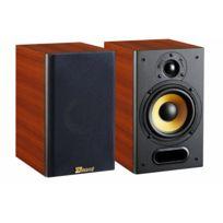 DAVIS ACOUSTICS - Paire d'Enceintes Compactes - 90W - 2 voies - 2 HP - 88dB - Bass Reflex - MUSIC 3