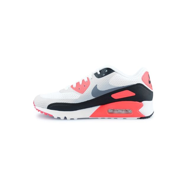 20fdea9af4ec43 Nike - Air Max 90 Ultra Essential Blanc 819474-106 - pas cher Achat ...