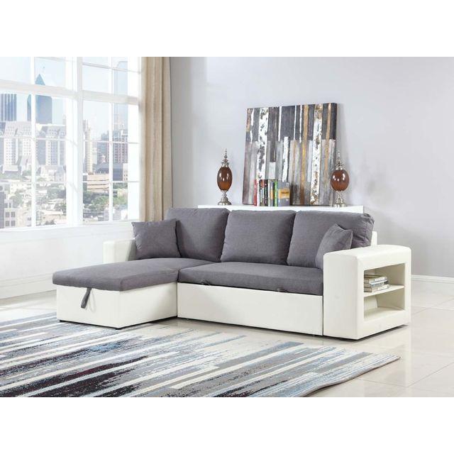habitat et jardin canap d 39 angle convertible et. Black Bedroom Furniture Sets. Home Design Ideas
