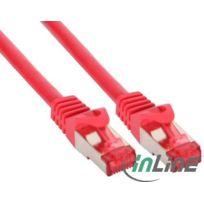 InLine - Cable Reseau - Catégorie 6 - Droit - S/FTP - 2m - 76402R - Rouge