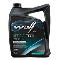 Wolf - Bidon 5 litres d'huile 5W30 Officialtech 5W30 C2 - 8309113