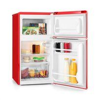 KLARSTEIN - Monroe Red Réfrigérateur/congélateur 61/24l Classe A+ Look rétro ? rouge