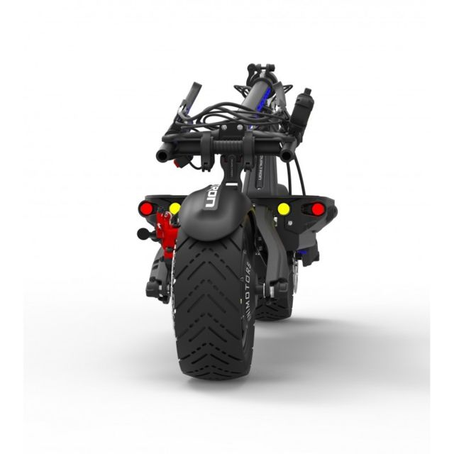 minimotors trottinette electrique dualtron thunder 85 km h et 100 km autonomie noir pas. Black Bedroom Furniture Sets. Home Design Ideas