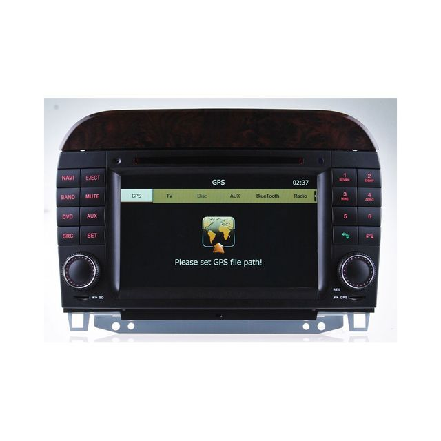 Auto-hightech Autoradio Gps Pour Mercedes Benz Classe S W200