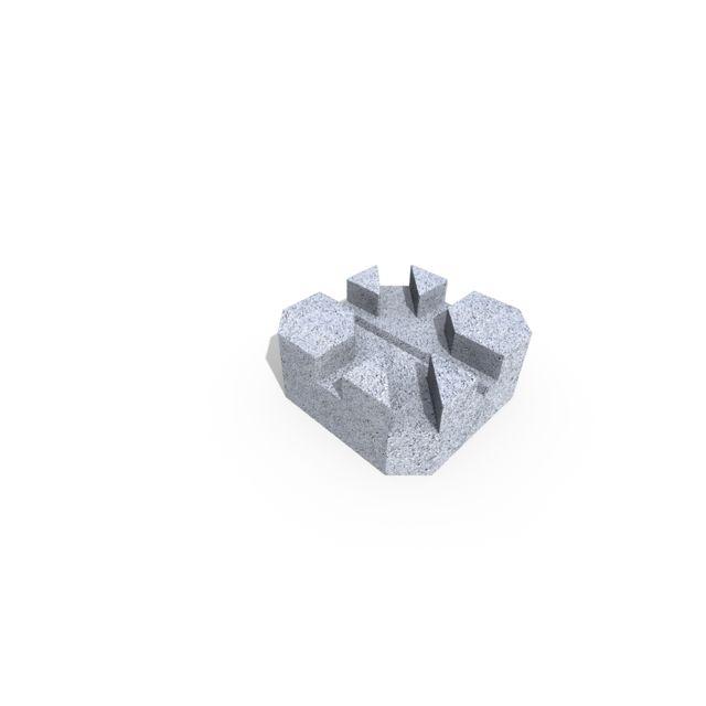 marque generique plot bton pour terrasse 24 x 24 x 10 cm