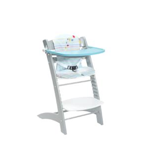 badabulle chaise haute volutive bleu et gris pas cher achat vente chaises hautes. Black Bedroom Furniture Sets. Home Design Ideas