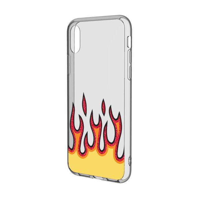 coque iphone 8 flammes