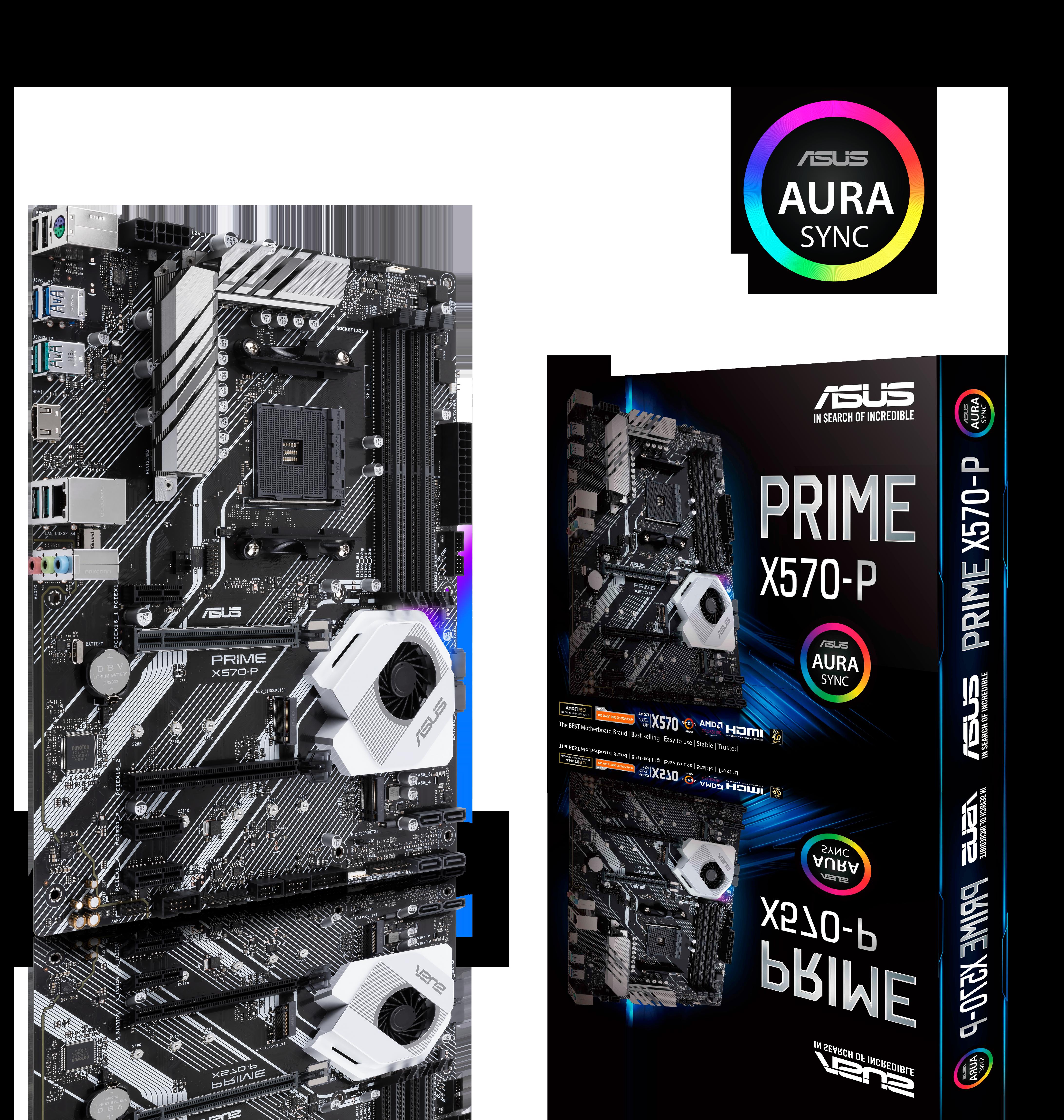 Carte mère Prime X570-P Asus