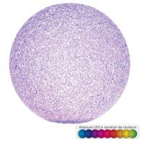 Home Sweet Light - Boule Led effet cristal - Diamètre 18,5 cm