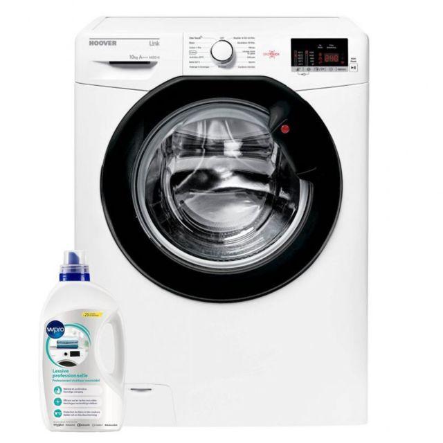 Hoover Lave-linge Frontal 10KG A+++ 1400trs/min Tambour 66L One Touch Machine à laver hublot