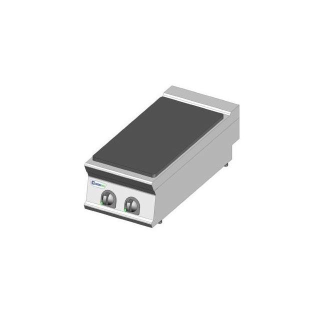 Materiel Chr Pro Plaque électrique de mijotage simple à poser - 2 plaques - gamme 900 - module 400 - Tecnoinox - 900