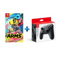 NINTENDO - Arms - SWITCH + Manette Switch Pro