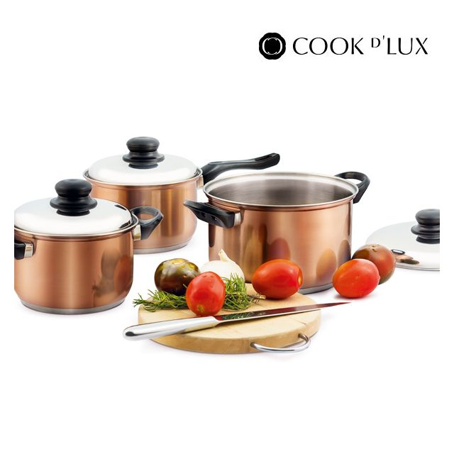 Appetitissime - Batterie de cuisine Cook D'Lux 12 pièces
