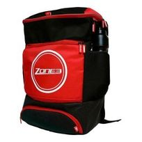 Zone3 - Sac à dos Transition Backpack 40l noir rouge