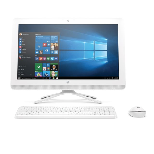 HP All-in-one 20-c000nf - 1 To - Blanc