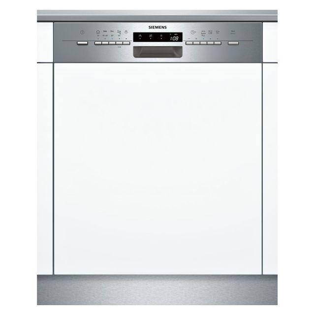 SIEMENS lave-vaisselle 60cm 12 couverts a++ intégrable avec bandeau apparent inox - sn55l532eu