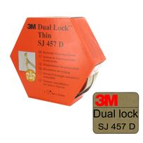 3M - Ruban adhésif acrylique 300LSE Dual Lock Sj457D