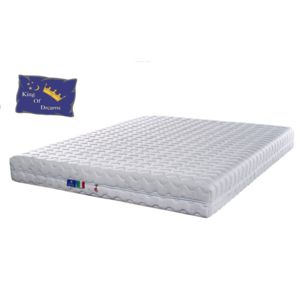 King of dreams pink diamond matelas 2x 80x200 hauteur for Draps housse 80x200 carrefour