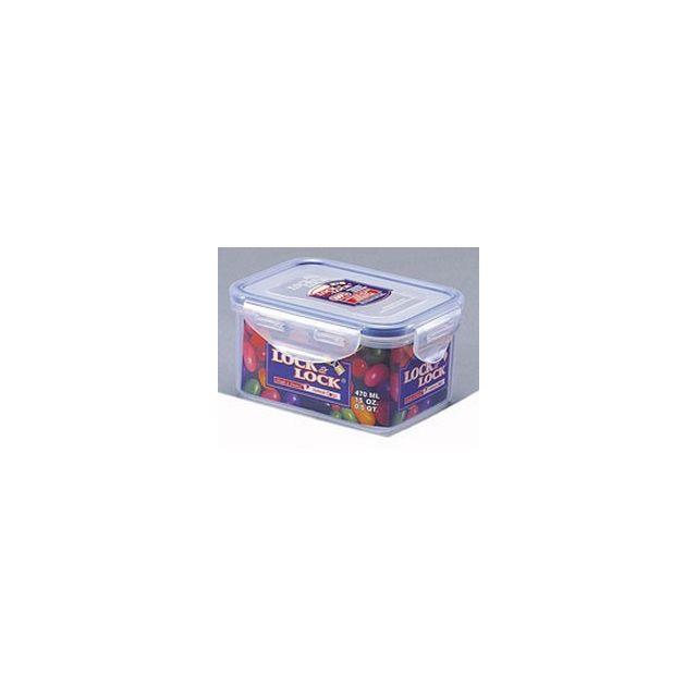 Lock & Lock Boîte Rectangulaire Format Haut - 470ml