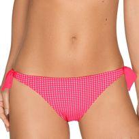 Primadonna Swim - Bas de maillot taille basse Vichy Saint-Tropez Candy Crush