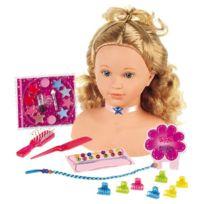 Miss Fashion - Tête à coiffer et à maquiller