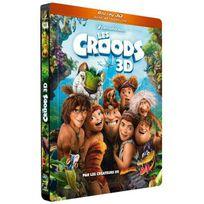 Dreamworks Skg - Les Croods Combo Blu-Ray 3D + Dvd Edition Steelbook