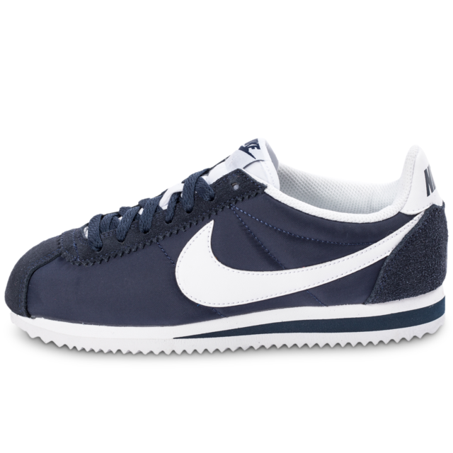new product 3f5aa cd82c Nike - Nike Cortez Nylon W Bleu Marine - Baskets Femme