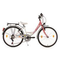 Ks Cycling - Vélo enfant 24'' Fabulous rose Tc 36 cm