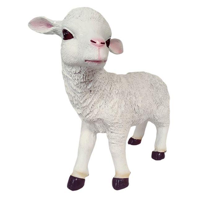 Statues de moutons pour jardin