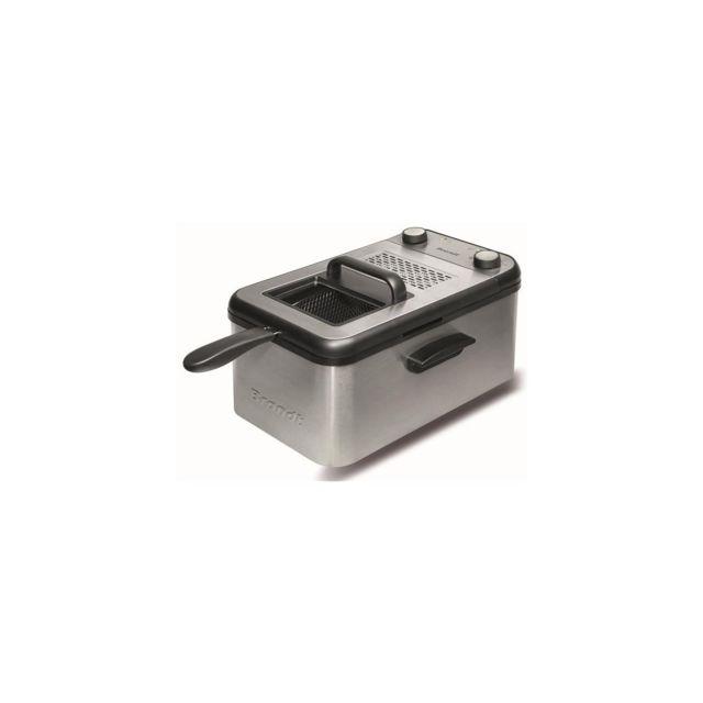 Brandt Friteuse Semi Pro 2200w 4,2l 1,5kg Th° Cuve Amovible Demontable Minuteu - Fri4200