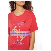 38830662006a tee shirt guess femme paillettes - Achat tee shirt guess femme ...