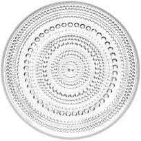 - Assiette plate iittala Kastehelmi Ø 17 cm- Transparent Ø 17 cm