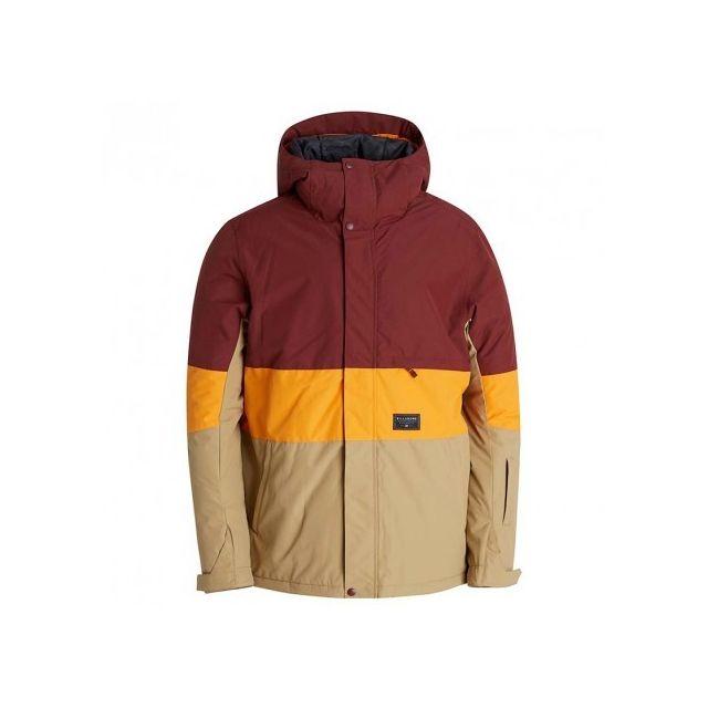 Billabong - Veste Legacy block Ski Snowboard Orange Homme - pas cher Achat    Vente Blouson homme - RueDuCommerce f772980d0adf