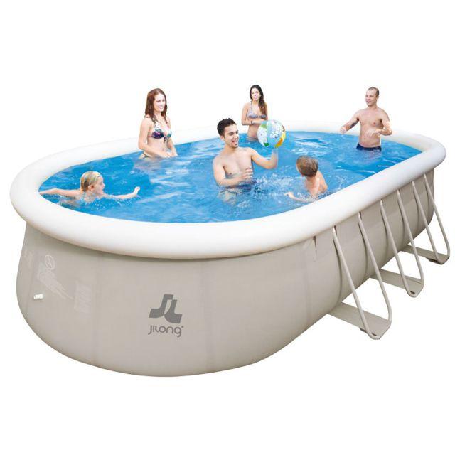 jilong piscine hors sol autoportante et tubulaire chinook 732 x 360 x 122 cm pas cher achat. Black Bedroom Furniture Sets. Home Design Ideas