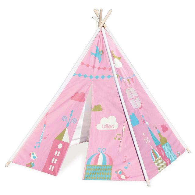 vilac tipi neverland ingela p arrhenius pas cher achat vente maisonnettes tentes. Black Bedroom Furniture Sets. Home Design Ideas