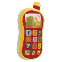 Simba Toys - Le TÉLÉPHONE En Peluche Abc BÉBÉ, Rouge