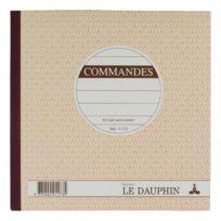 Le Dauphin - Cahier de commande Manifold La Dauphin autocopiant 21 x 21 cm 50 pages triple exemplaires