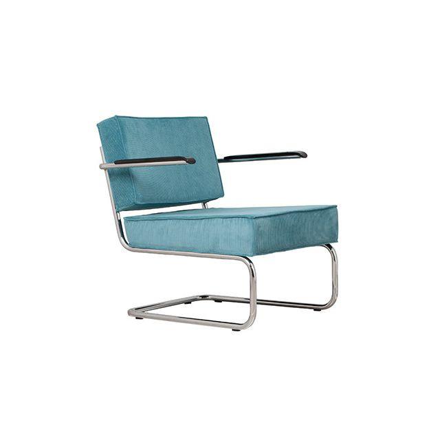 Fauteuil lounge - bleu