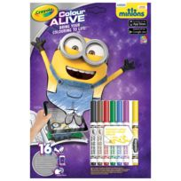 Crayola - Coloriages Colour Alive : Les Minions