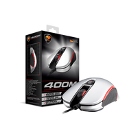 Cougar - Souris Gaming 400M Argent -optique