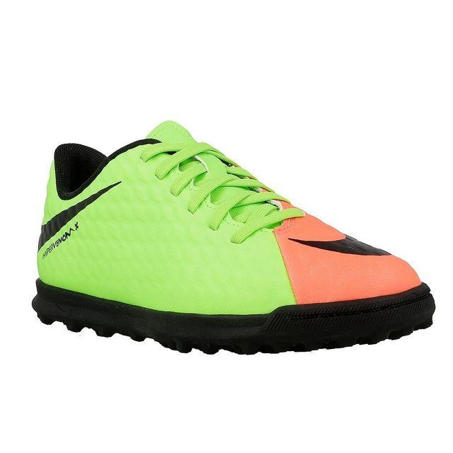 reputable site 92d56 c3bba Nike - Hypervenom Phade Tf Jr Vert - 37 1 2 - pas cher Achat   Vente  Chaussures foot - RueDuCommerce